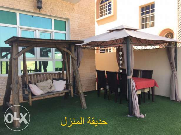 Villa with furniture for rent