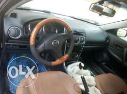 Mazda 6 metalic blue colour