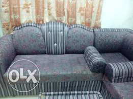 Sofa Set - 7 Seater with 2 Hand Cushions and Center Table