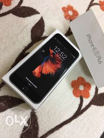 Excellent Condition Apple IPhone 6s Plus Space Gray for sale مسقط -  2