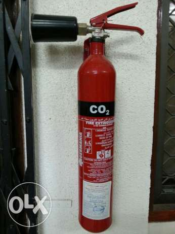 مطفأة حريق عدد2 Fire extinguisher