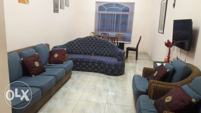 Two months only. Fully furnished one bedroom flat in Ruwi.