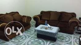 Sofa 7 Seater (3+2+1+1) clean with table for urgent sale