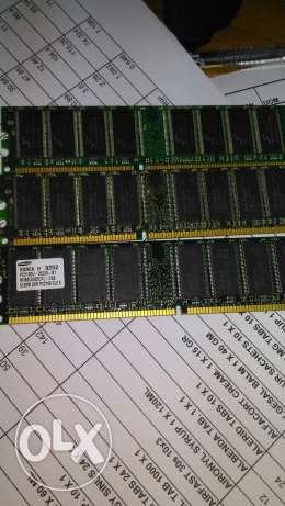 DDR1 RAMs for cheap price 3 pcs