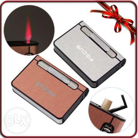 focus cigar holder with lighter- OFFER
