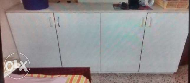 Sale of Kitchen Cabinet For Sale -4 doors last day