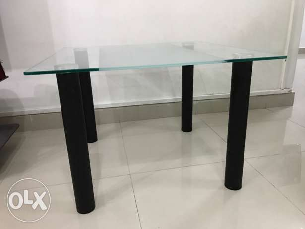 Side Table - glass