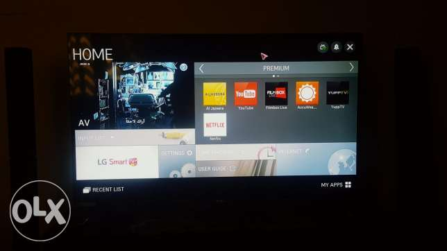 LG Smart 3D LED TV 49 inches