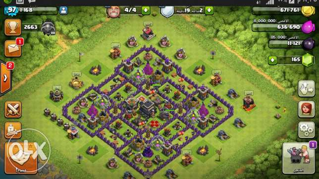 Clash of clans عبري -  3