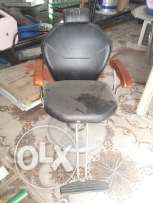 Threading chair used