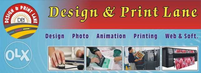 Typing, Graphic designing, Picture editing and Printing