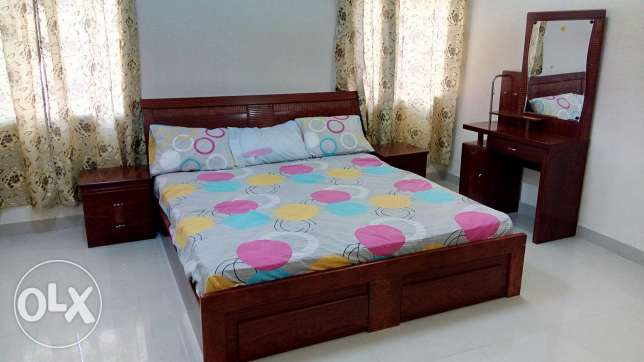 King size Bed room set with mattress
