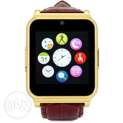 W90 Smart Watch Phone - GOLDEN SIM Bluetooth Camera مسقط -  4