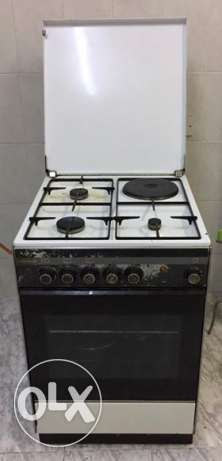Gas Cooking Range Available!