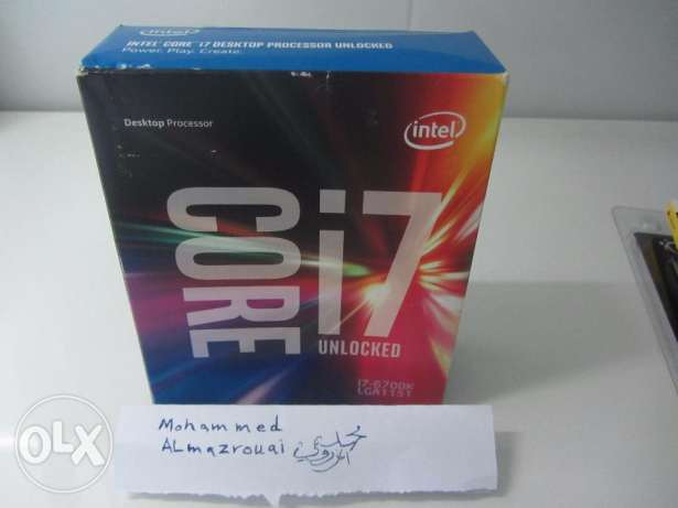 مــعالــج PC CPU Intel I7 6700k