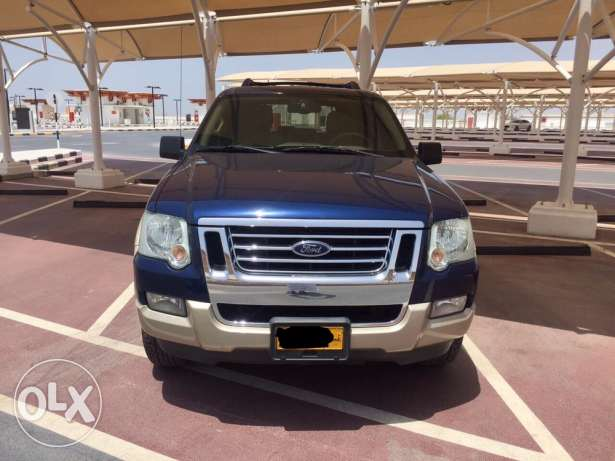 Top of the range Ford Explorer 2008