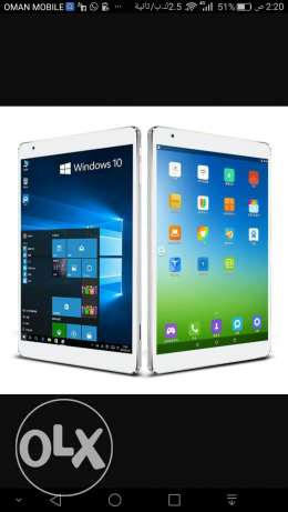 Tablet dual windows 10 + Android 5.2 السيب -  1