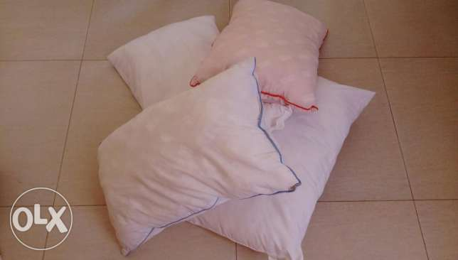 House hold items pillows and blankets