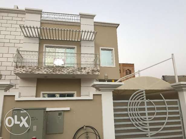 brand new villa for rent in boshar behind mjuscat private