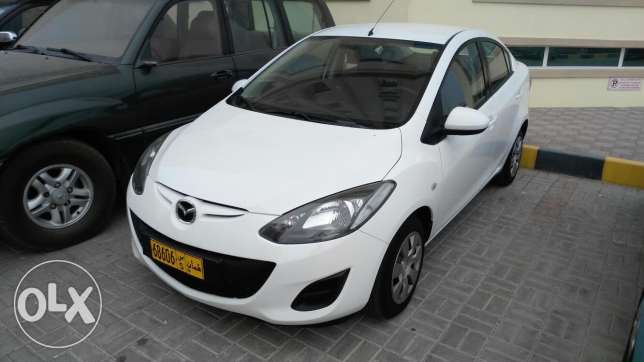 Mazda 2 model 2013 cash for sell السيب -  1