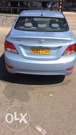 Salon Hyundai Accent 1.6 Model 2013 mileage 94000 Wanted 2850 To comm مسقط -  3
