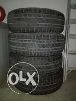 Firestone tyres for sale in good condition