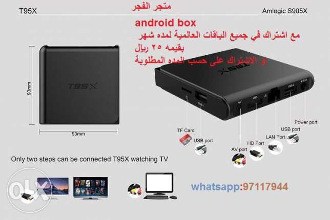 android box with iptv