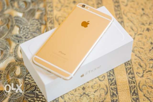 iPhone 6 Plus 64GB Gold in good condition