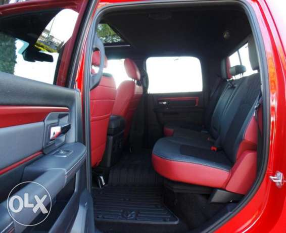 2017 # Dodge Ram # 1500 # REBEL # 4X4 # 5.7L HEMI VVT V8 # Fabric Bed