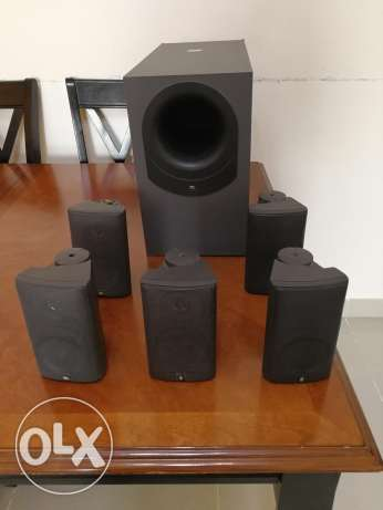 JBL Speakers (5nos) and sub woofer (not powered)