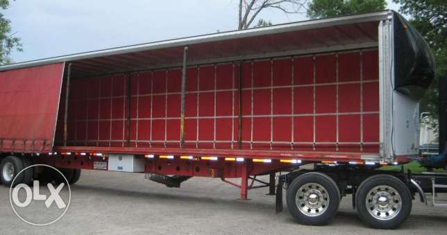 2017 model curtain side trailers for sale