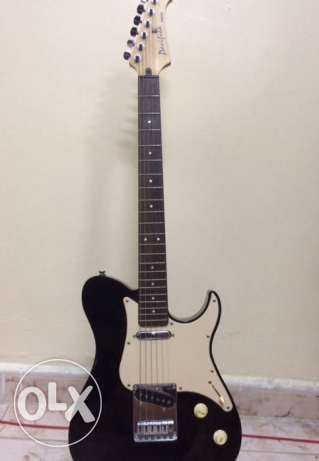 Yamaha Electric Guitar with fender 10w amplifier and chord