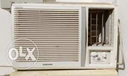 AC window Samsung for sell 40 OR مكيف سامسونج ب