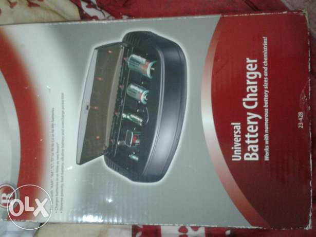Battery charger AA AAA C D 9V