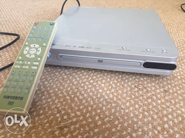 Vinverth DVD player for 7 rials