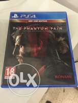 PS4 Game - Metal Gear Solid 5 Phantom Pain - Excellent Condition