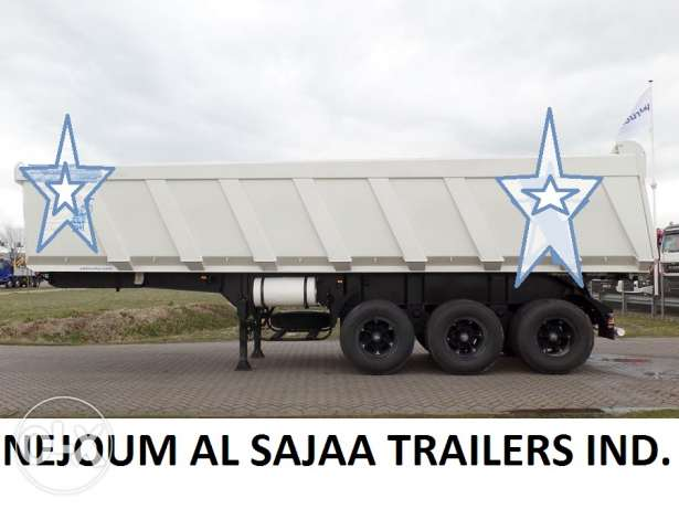 trailers tipper box new for sale