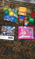 Puzzles free and assorted toys5 pcs