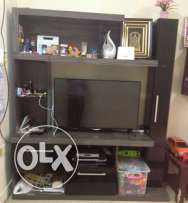 wall unit cum TV stand