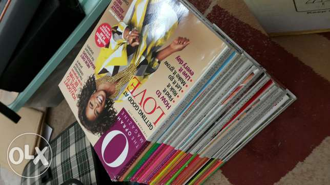 Collection of Oprah magazine all for RO 20 with free Oman Today