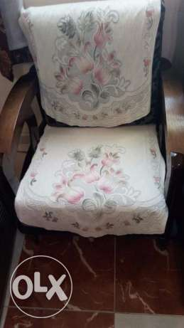 Compact Sofa Set for Sale (3+2+1) - Homewell مسقط -  2