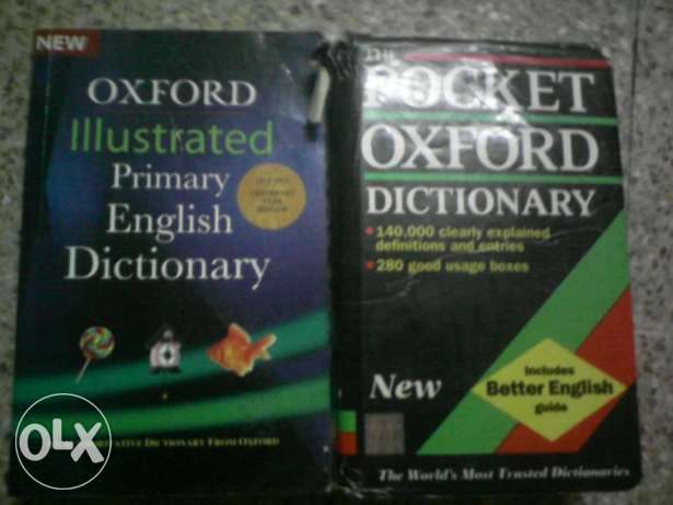 Oxford dictionary 2 pcs