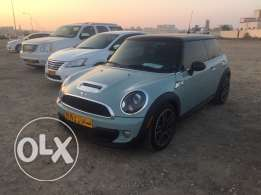 Mini Cooper S turbo with beautiful color