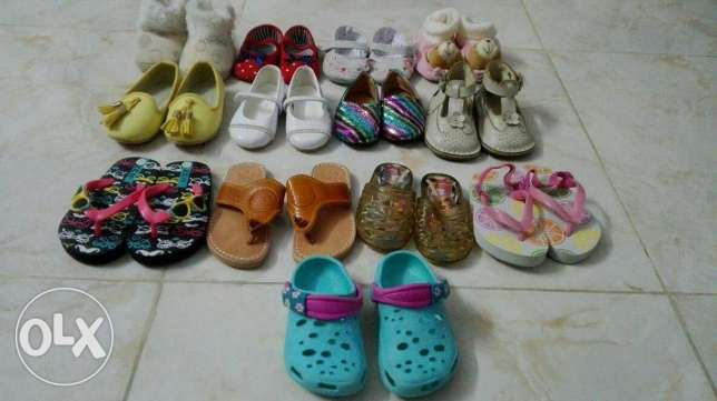 Baby shoes like new!!