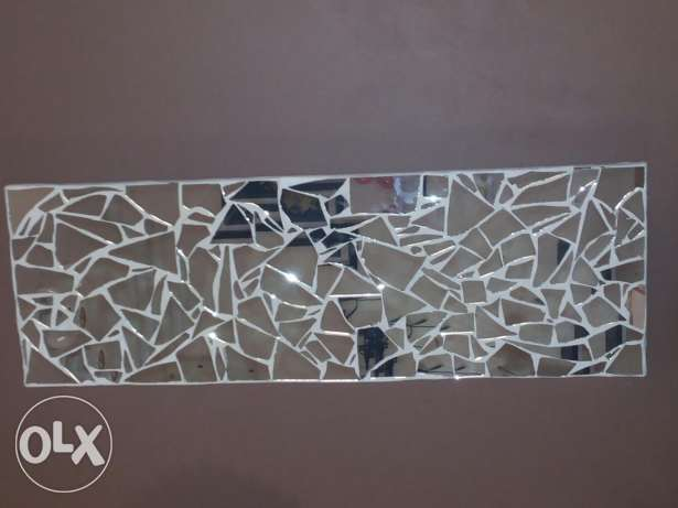 Glass art for wall