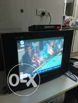 tv flat ( euro star ) same as new 21 inch