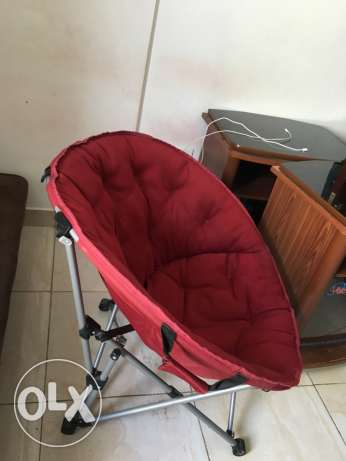 relaxation chair red color مسقط -  6