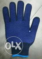 Cotton dotted gloves for sale