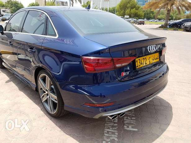 Audi S3 2017 almost new only 3000 Km