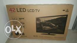 "42"" LG LED TV for sale"